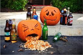drunk jack o'lantern | pumpkin carving