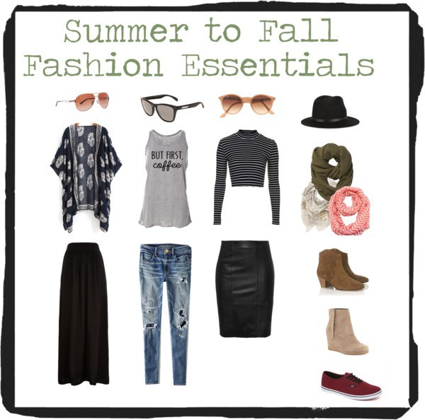 Polyvore - Fall Fashion Essentials