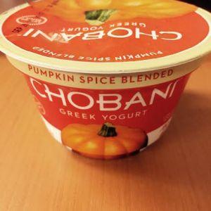Chobani | Pumpkin Yogurt