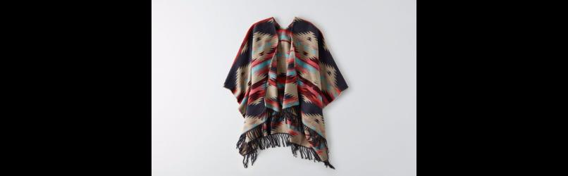 American Eagle | Poncho | Fall Fashion Favorites | Fall Essentials