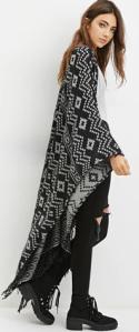 Poncho | Forever21 | Fall Fashion Essentials