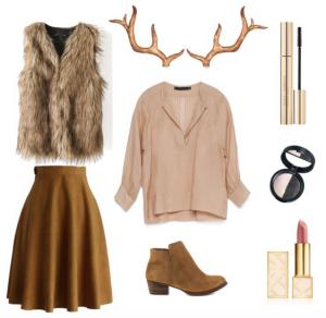 Polyvore | DIY Halloween Costume | Deer