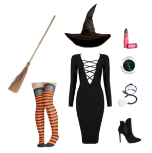 Polyvore | DIY Halloween Costume | Witch