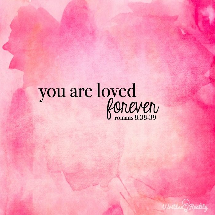 You Are Loved | Bible Verse