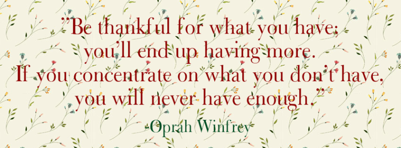 Happy Thanksgiving | Give Thanks | Be Thankful