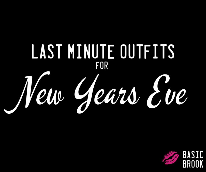 NYE Outfits | NYE Dresses | Last Minute Shopping | Basic Brook